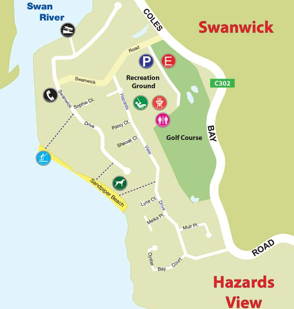 Map of Swanwick