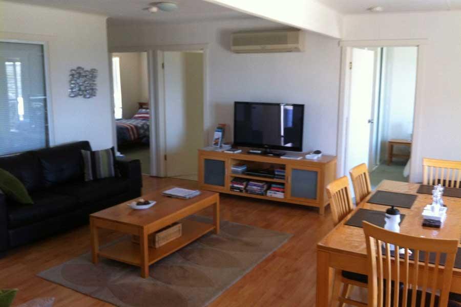 living room azure beach house