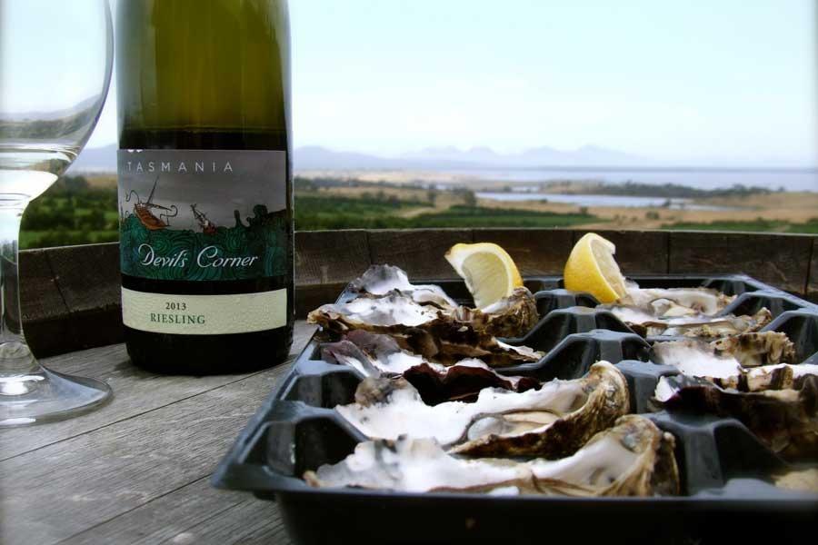 Long lunch tour East coast Tasmania