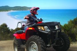Quadbike Freycinet Tasmania