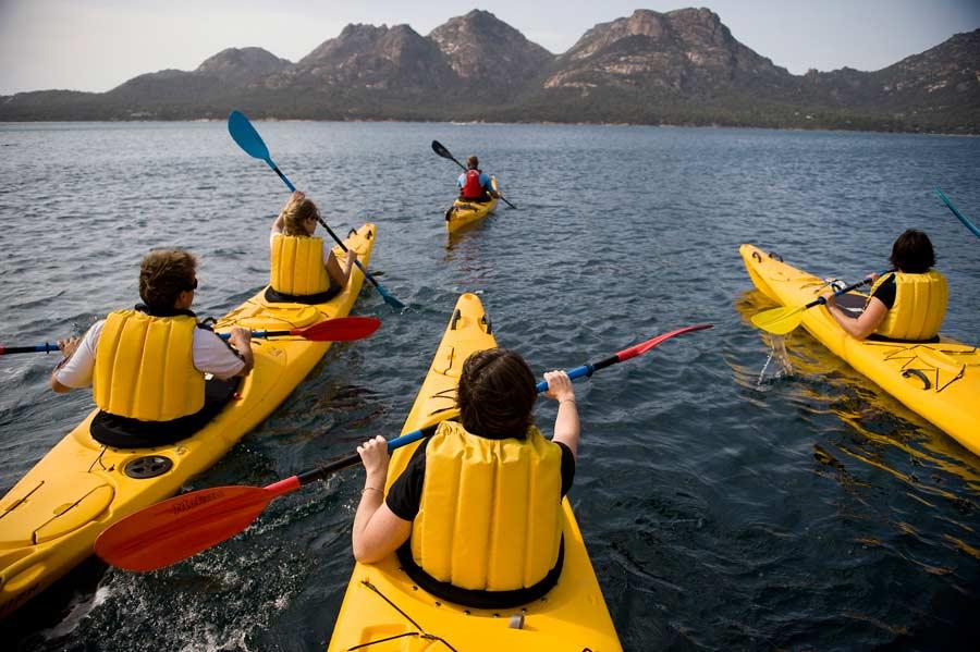 Freycinet Paddle Coles bay Tasmania