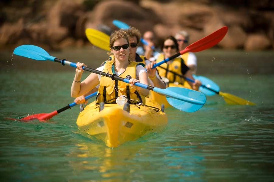 Freycinet Paddle fun