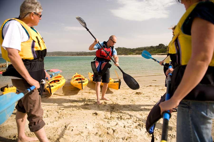 Freycinet Paddle equipment briefing