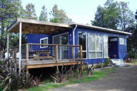 Blue Shack accommodation Tasmania