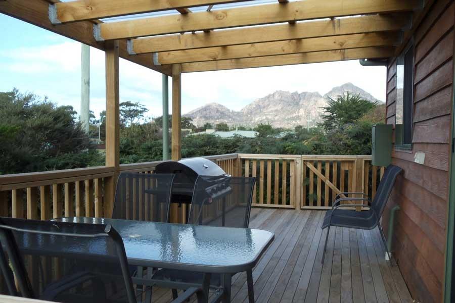 Gumnut accommodation freycinet