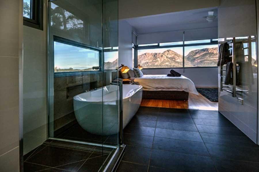 The loft accommodation