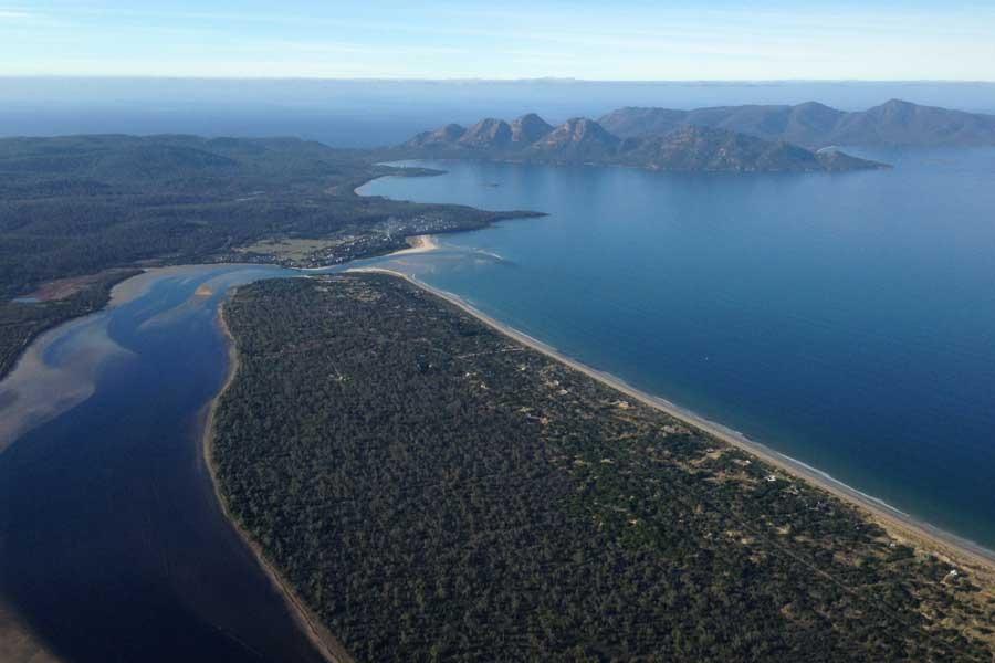 Freycinet air Tasmania