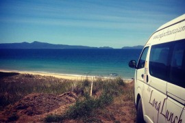 Long lunch tour great wheather east coast Tasmania