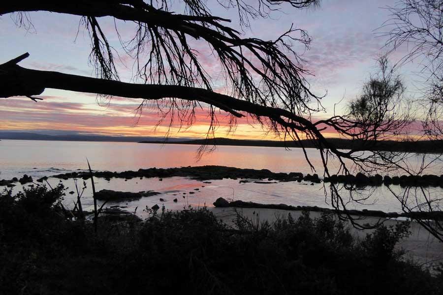Muirs beach sunset