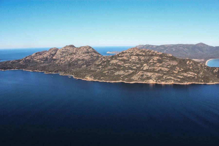 Freycinet Air, wineglass bay, great eastern drive