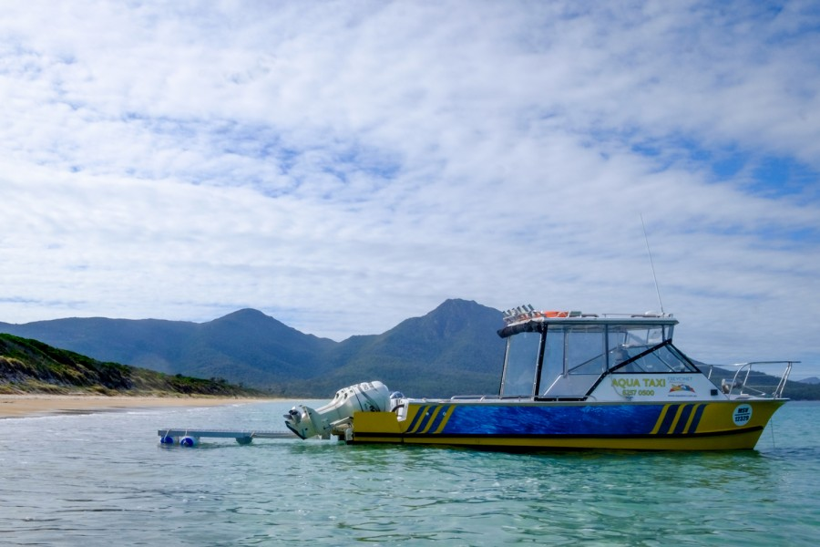 Water Taxi, Aqua Taxi, Freycinet Adventures