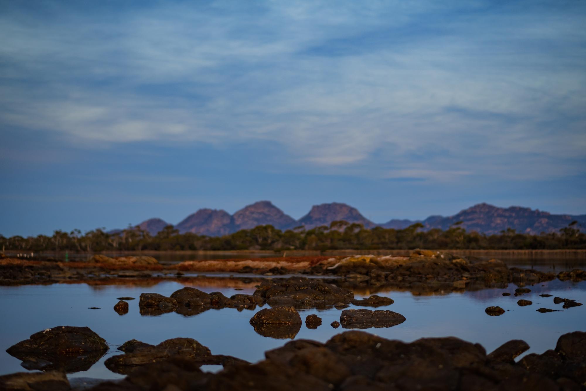 Hazards Mountain Range, Coles Bay, Freycinet
