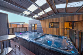 Hot Tub, Coles Bay, East Coast Tasmania