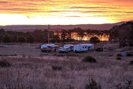 Campground Freycinet